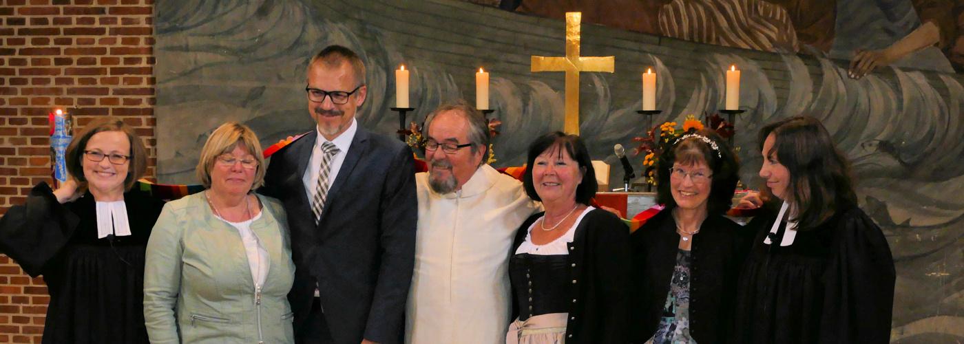 Team in der Genezarethkirche